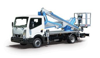 Hubarbeitsbühnen auf LKW bis 3,5T